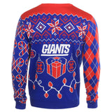 New York Giants Official NFL Christmas Tree & Ornament Ugly Sweater