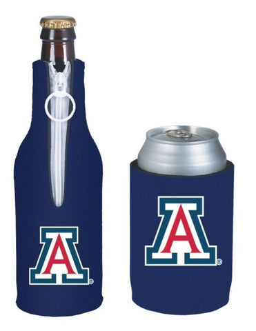 Arizona Wildcats NCAA Bottle & Can Beer Soda Drink Holder-2 Pack