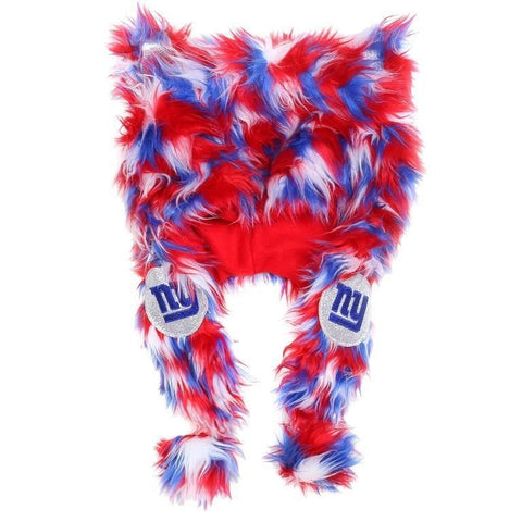 New York Giants NFL Logo Fluffy Plush Hat