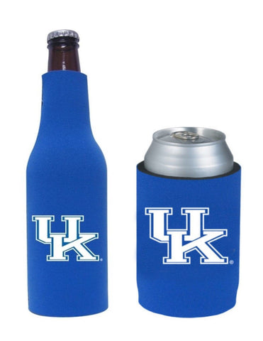 Kentucky Wildcats NCAA Bottle & Can Beer Soda Drink Holder-2 Pack