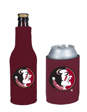 Florida State Seminoles NCAA Bottle & Can Beer Soda Drink Holder-2 Pack