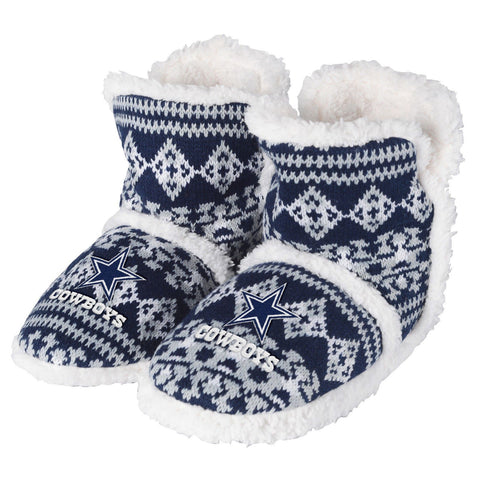 Dallas Cowboys Warm Womens Aztec Sherpa Boots