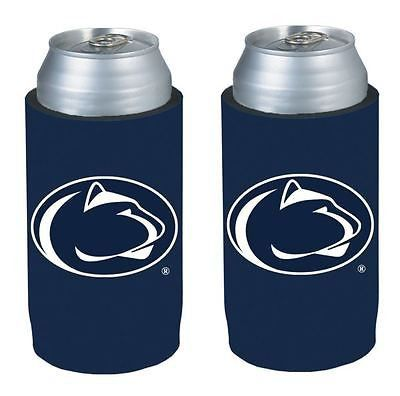 Penn State Nittany Lions NCAA Ultra Slim Can Drink Beer Holder 2-Pack