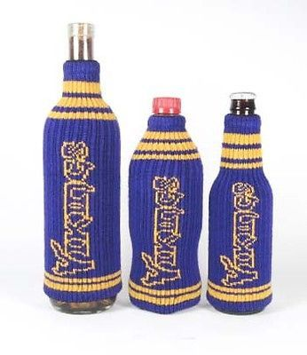 Minnesota Vikings NFL Krazy Kovers Stretchy Woolie Bottle Cooler