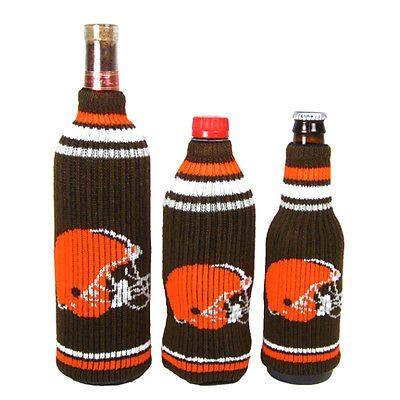 Cleveland Browns NFL Krazy Kovers Stretchy Woolie Bottle Cooler