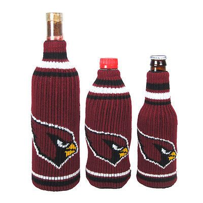 Arizona Cardinals NFL Krazy Kovers Stretchy Woolie Bottle Cooler