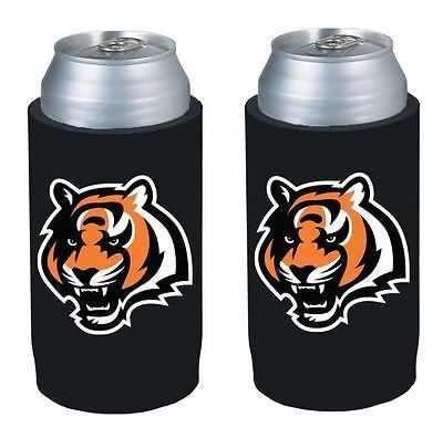 Cincinnati Bengals NFL  Ultra Slim Can Drink Beer Holder 2-Pack