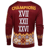 Washington Redskins Official NFL Super Bowl Commemorative Crew Neck Sweater
