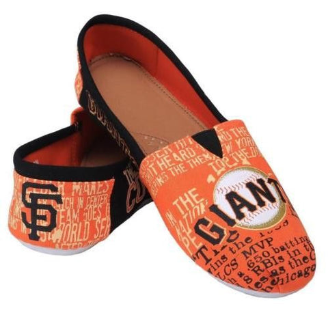 San Fransico Giants MLB  2016 Thematic Canvas Shoes
