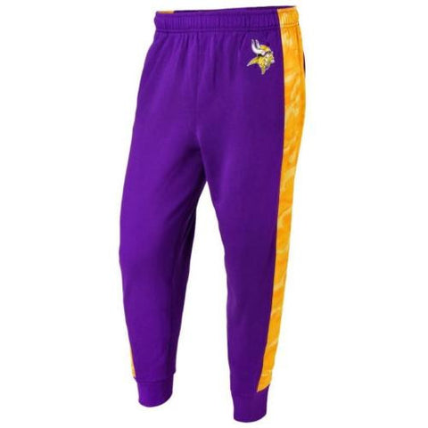 Minnesota Vikings NFL Mens Printed Poly Insert Camo Stripe Jogger Pants