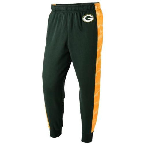 Green Bay Packers NFL Mens Printed Poly Insert Camo Stripe Jogger Pants