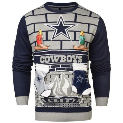 Dallas Cowboys NFL Ugly Mens Holiday Christmas Sweater