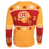 Washington Redskins Official NFL Warm Winter Cotton Retro Sweater