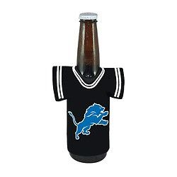 Detroit Lions NFL Beer Bottle Jersey Cooler - Neoprene Cooler