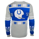 Indianapolis Colts Official NFL Warm Winter Cotton Retro Sweater