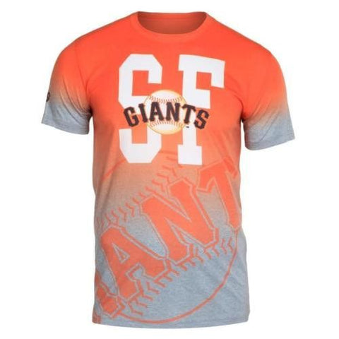 San Francisco Giants Official MLB Gradient Tee By Klew