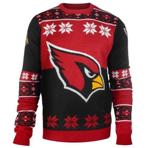 Arizona Cardinals NFL Big Logo Crew Neck Ugly Sweater