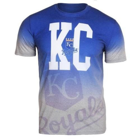 Kansas City Royals Official MLB Gradient Tee By Klew