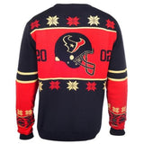 Houston Texans Official NFL Warm Winter Cotton Retro Sweater