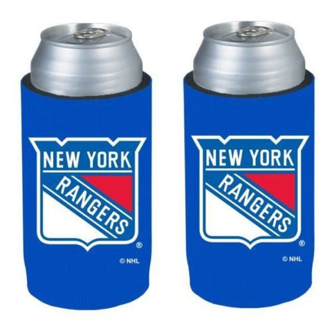 New York Rangers NHL Ultra Slim Can Drink Beer Holder Cooler 2-Pack