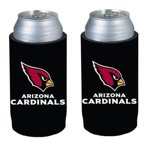 Arizona Cardinals NFL Ultra Slim Can Drink Beer Holder 2-Pack