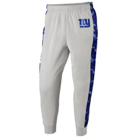 New York Giants NFL Mens Printed Poly Insert Camo Stripe Jogger Pants