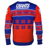 New York Giants NFL Big Logo Crew Neck Ugly Sweater