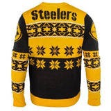 Pittsburgh Steelers NFL Big Logo Crew Neck Ugly Sweater