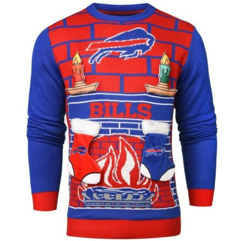 Buffalo Bills NFL Ugly Mens Holiday Christmas Sweater