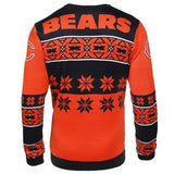 Chicago Bears NFL Big Logo Crew Neck Ugly Sweater
