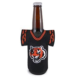 Cincinnati Bengals NFL Beer Bottle Jersey Cooler - Neoprene Cooler