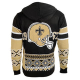 "New Orleans Saints Official NFL ""big Logo"" Hooded Sweatshirt By Klew"