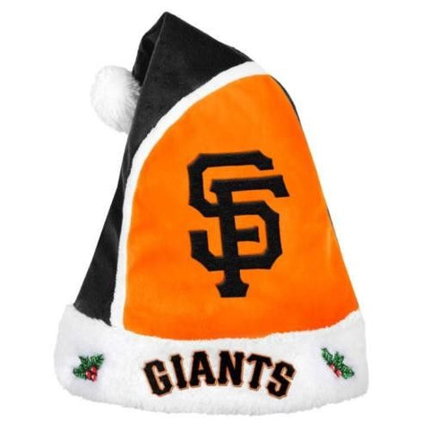 San Francisco Giants MLB Team Logo 2015 Christmas Basic Santa Hat