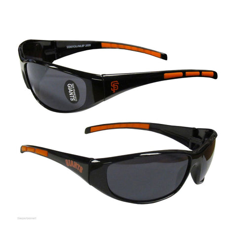San Francisco Giants Men's Official MLB 3 Dot Sports Wrap Sunglasses