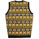 Pittsburgh Steelers Official NFL Men's Aztec Sweater Vest by Klew