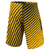 Boston Bruins Official NHL Team Logo Poly Stripes Boardshorts