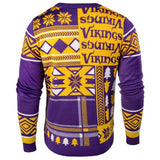 "Minnesota Vikings Official NFL Men's ""ugly Sweater"" By Klew"
