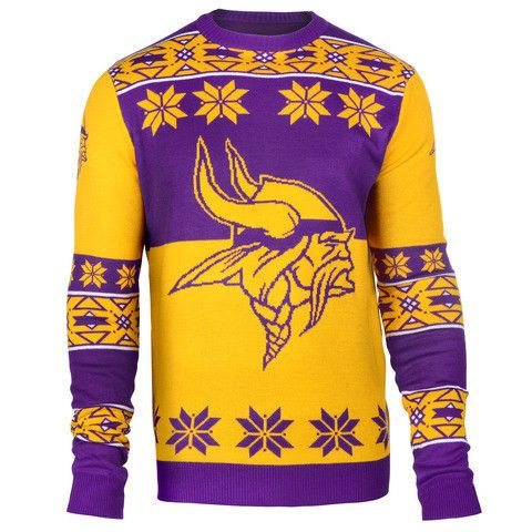 Minnesota Vikings Official Men's NFL Big Logo Sweater