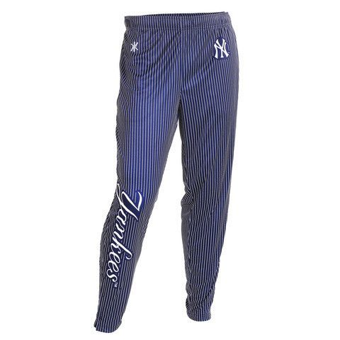New York Yankees Official MLB Men's Tapered Zip Up Pants