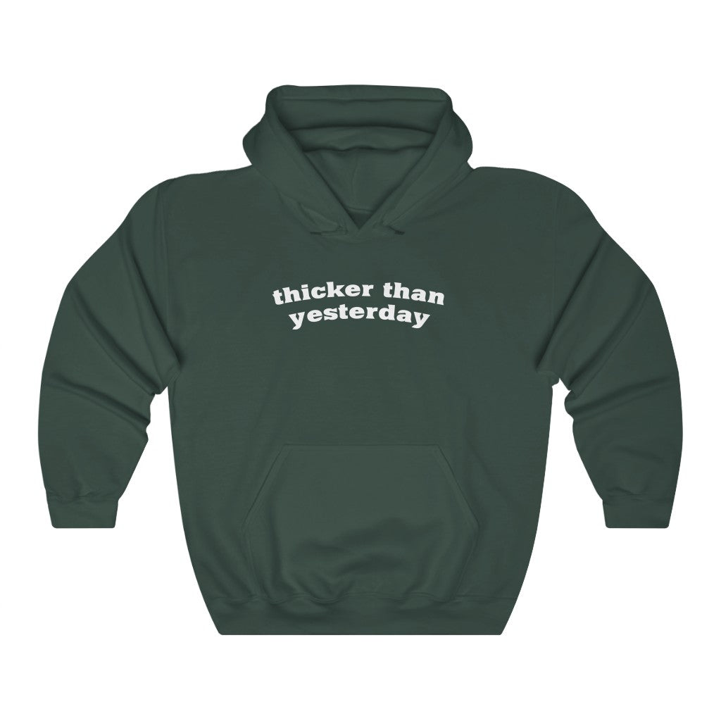 Thicker Than Yesterday (Unisex Fit Hoodie)