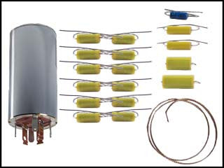 Hallicrafters 8-R40 Can Capacitor and Re-Cap Kit
