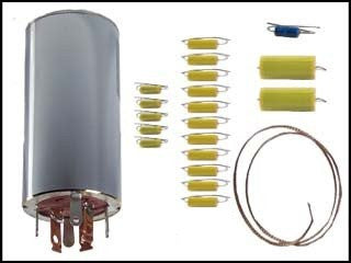 Can Capacitor and Re-cap Kit for the Hallicrafters SX-111