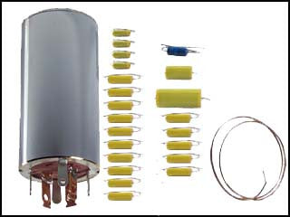 Hallicrafters SX-110 Can Capacitor and Re-Cap Kit.