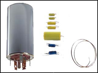 Hallicrafters SX-122 Can Capacitor and Re-Cap Kit