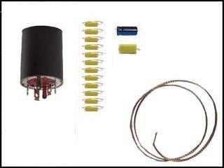 Can Capacitor and Re-Cap Kit for Zenith Trans-Oceanic T600