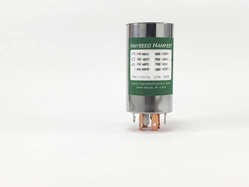 Drake TR-4 (4-section) Can Capacitor