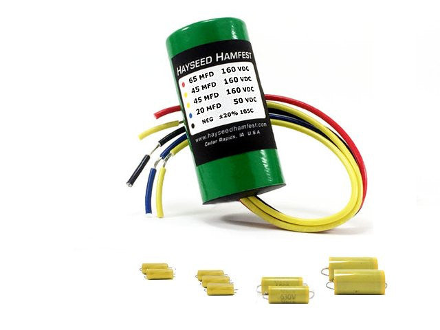 Hallicrafters S-38A Re-Cap Kit