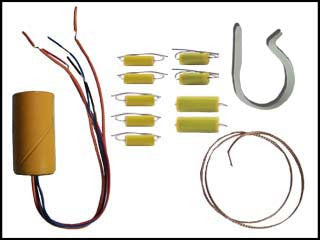 National SW-54 Tubular Capacitor and Re-Cap Kit