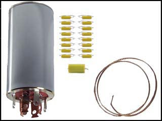 Hallicrafters S-53 / S-53A Can Capacitor and Re-Cap Kit