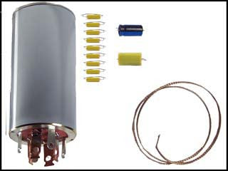 Hallicrafters S-72 Can Capacitor and Re-Cap Kit